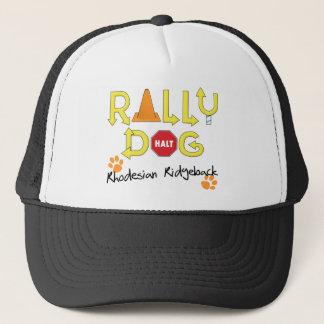 Rhodesian Ridgeback Rally Dog Trucker Hat