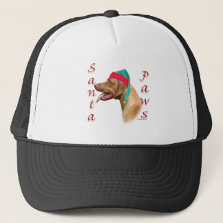 Rhodesian Ridgeback Santa Paws Trucker Hat