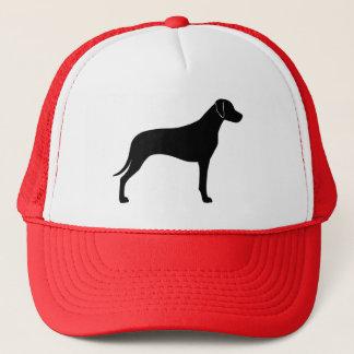 Rhodesian Ridgeback Silhouette Trucker Hat