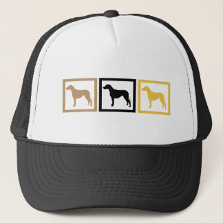 Rhodesian Ridgeback Squares Trucker Hat