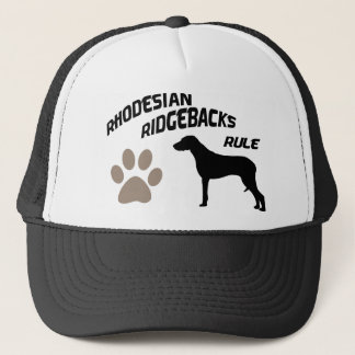 Rhodesian Ridgebacks Rule Trucker Hat