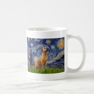 RhodesianRidgeback 2 - Starry Night Coffee Mug