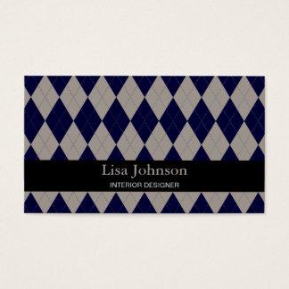 Rhombus Interior Designer Card