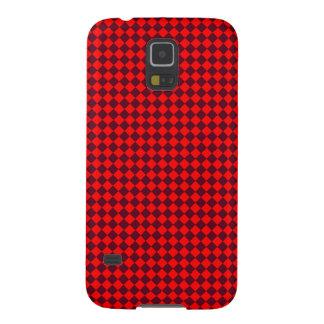 Rhombuses - Red and Dark Scarlet Galaxy S5 Case