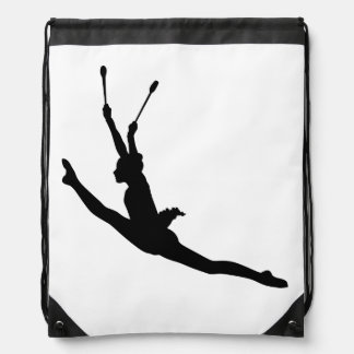 Rhythmic Gymnastics Drawstring Drawstring Bag