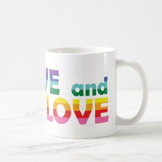 RI Live Let Love Coffee Mug
