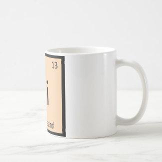 Ri - Rhode Island State Chemistry Periodic Table Coffee Mug