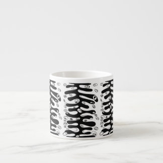 ribbed cell espresso cup