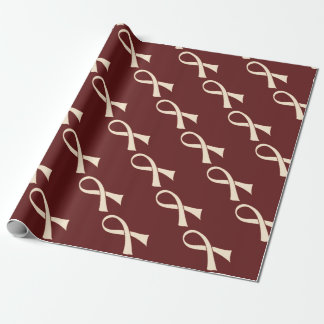 RIBBON BUDDHA WRAPPING PAPER