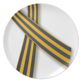 Ribbon of Saint George Party Plate