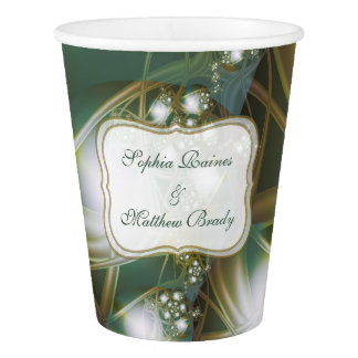 Ribbons and Lace Paper Cup