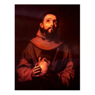 Ribera, Jos? de Hl. Franz von Assisi 1643 Techniqu Postcards