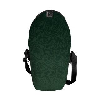 Rich Emerald Green Courier Bag