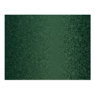 Rich Emerald Green Postcard