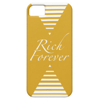 Rich Forever by Monroe Maven Barely There iPhone 5 Case