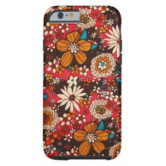 Rich sumptuous vintage floral textile pattern tough iPhone 6 case