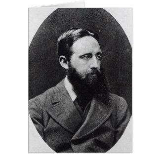 Richard Jefferies, c.1881-2 Card
