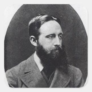 Richard Jefferies, c.1881-2 Square Sticker