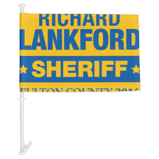 Richard Lankford for Sheriff Car Flag