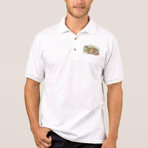 Richard Lydekker - Clouded Leopard Polo T-shirts