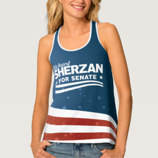 Richard Sherzan for Senate Singlet