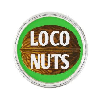 RichLoco LIVE Loco Nuts Lapel Pin