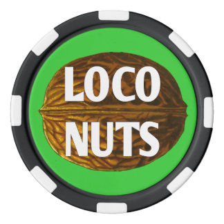 RichLoco LIVE Loco Nuts Poker Chips