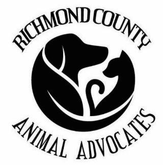 Richmond County Animal Advocates sculpture key Photo Sculpture Key Ring