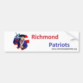 Richmond Patriots Bumper Sticker