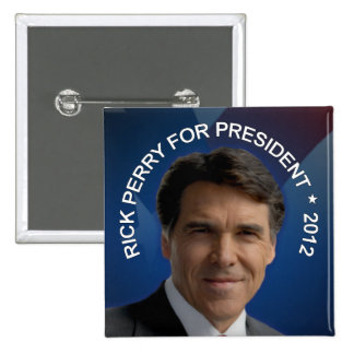 Rick Perry 2012 Pin