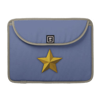 "Rickshaw 13"" MacBook sleeve,  Gold star, Star Sleeves For MacBooks"