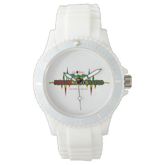 Riddim Roots Radio Women's White Silicon Watch