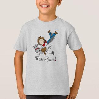 Ride 'Em Cowboy Stick Figure Shirt