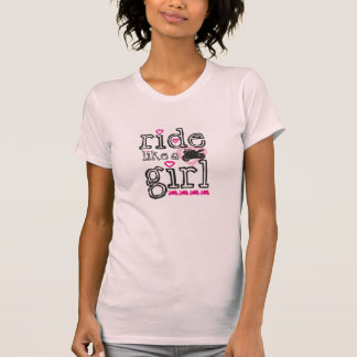 Ride Like A Girl - Sportbike Tee Shirt