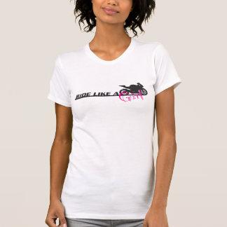 Ride Like A Girl T Shirt