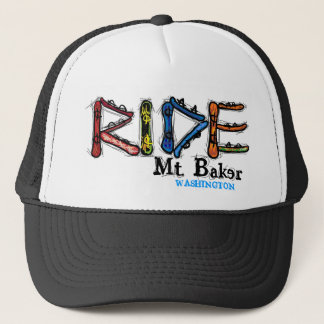Ride Mt. Baker Washington snowboard hat