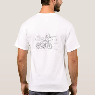 Ride of the ruperts white tshirt