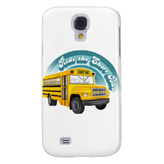 RIDE THE SHORT BUS SAMSUNG GALAXY S4 CASES