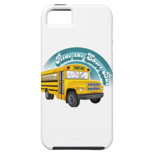 RIDE THE SHORT BUS iPhone 5 CASES