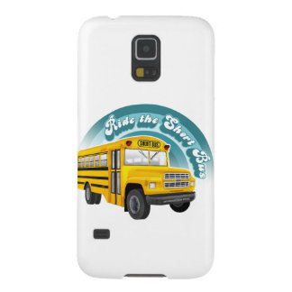 RIDE THE SHORT BUS GALAXY S5 COVERS