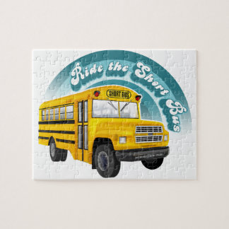 RIDE THE SHORT BUS JIGSAW PUZZLE