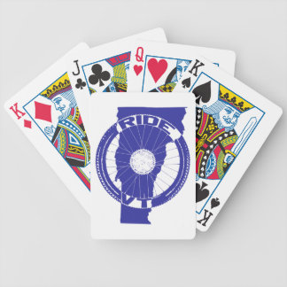 Ride Vermont Bicycle Playing Cards