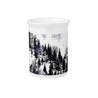 Ridge of trees pitcher