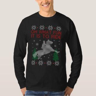 Riding Horse Christmas T-Shirt