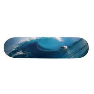 Riding the Tidal Wave Skateboard