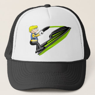 Riding to Jet Ski Trucker Hat