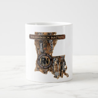 RIG UP CAMO Oilfield Large Coffee Mug