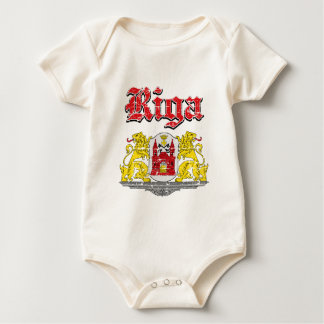 riga City Designs Baby Bodysuit