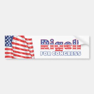 Rigell for Congress Patriotic American Flag Bumper Sticker