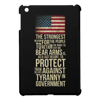 Right To Bear Arms - Thomas Jefferson Quote iPad Mini Cover